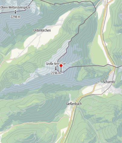 Karte / Arnspitzhütte