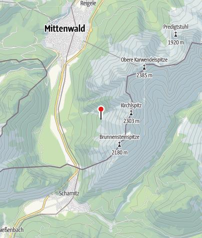 Karte / Brunnsteinhütte