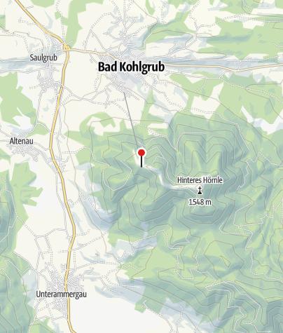 Karte / Hörnlehütte