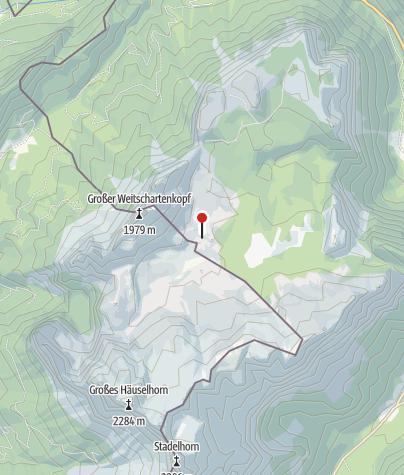 Karte / Neue Traunsteiner Hütte