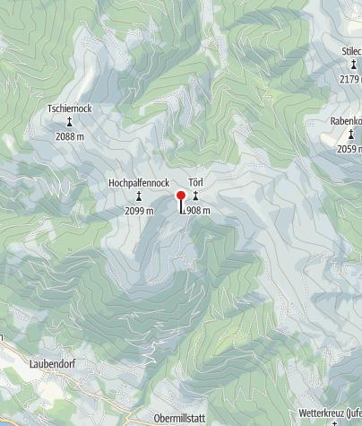 Map / Millstätter Hütte