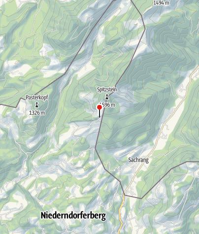 Karte / Spitzsteinhaus