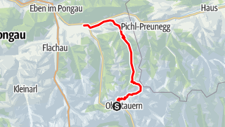 Karte / Salzburger Almenweg Etappe 24-26