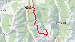 Karte / Salzburger Almenweg Etappe 21