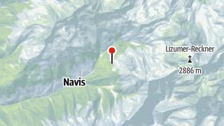 Karte / Naviser Hütte