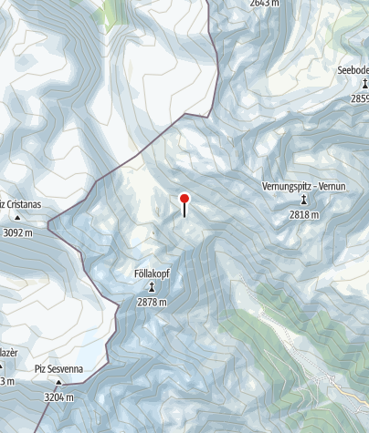 Map / Sesvennahütte