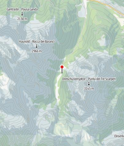 Map / Dreischusterhütte