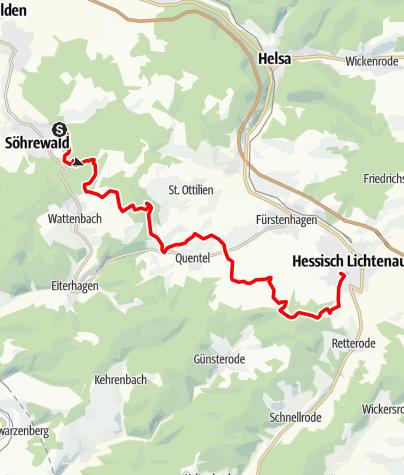 Karte / GrimmSteig