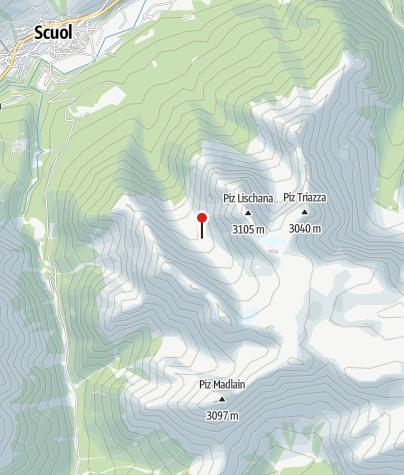 Karte / Chamonna Lischana CAS