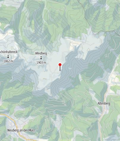 Map / Schneealpenhaus