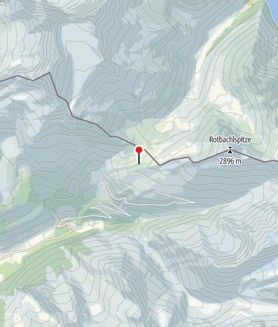 Karte / Pfitscher-Joch-Haus (Rif. Passo di Vizze)