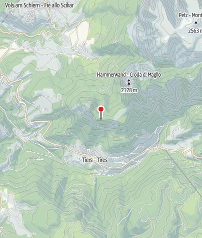 Karte / Tschafonhütte