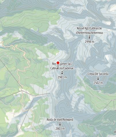 Karte / Santnerpasshütte (Rif. Passo Santner)