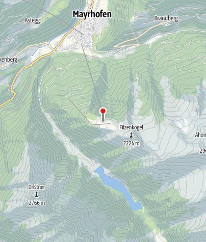 Karte / Bergstation Ahornbahn