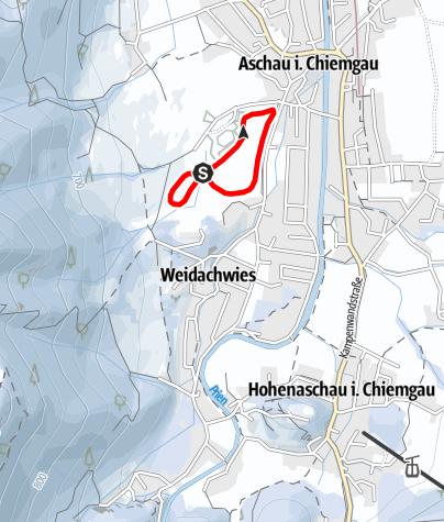 Mappa / Rundloipe Sportplatz