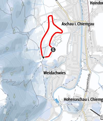 Mappa / Rundloipe Pölching
