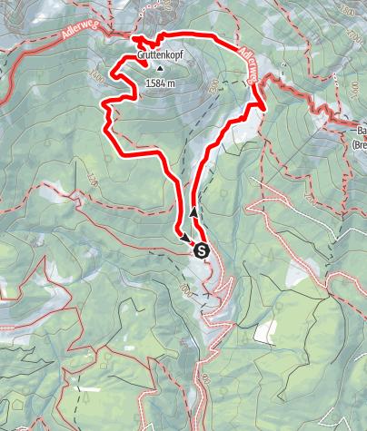 Karte / Klettersteig Klamml