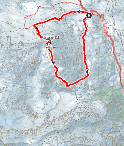 Karte / Rundtour über's Rostocker-Eck