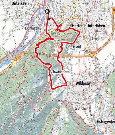 Map / Kulturgeschichtliche Leckerbissen am Rugen