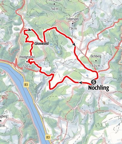 Karte / Rundtour Predigtstuhl