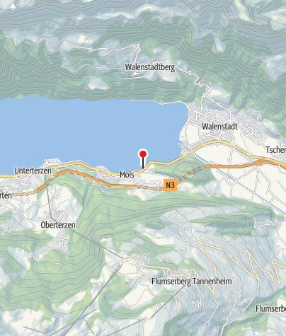 Karte / Feuerstelle Strandbad Mols