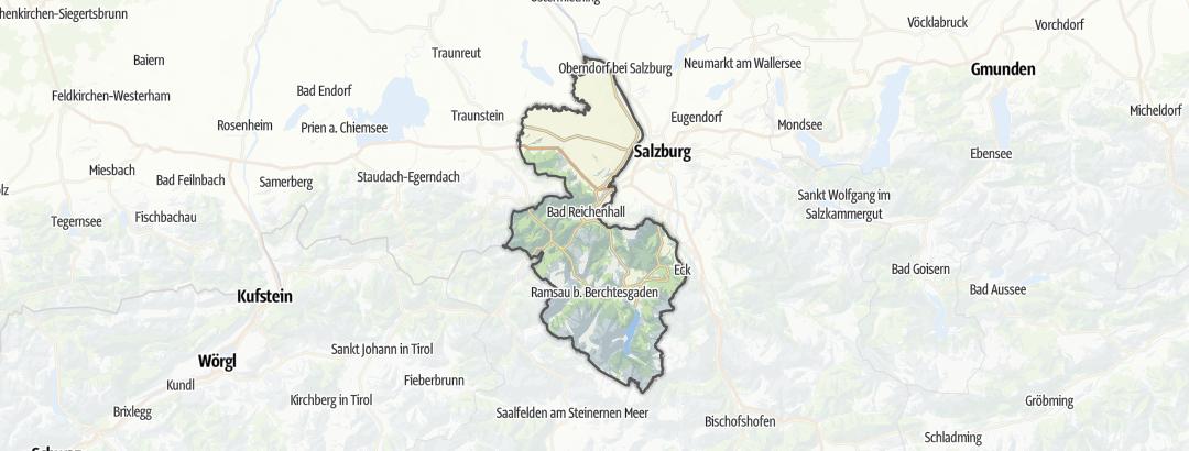 Karte / Berchtesgadener Land
