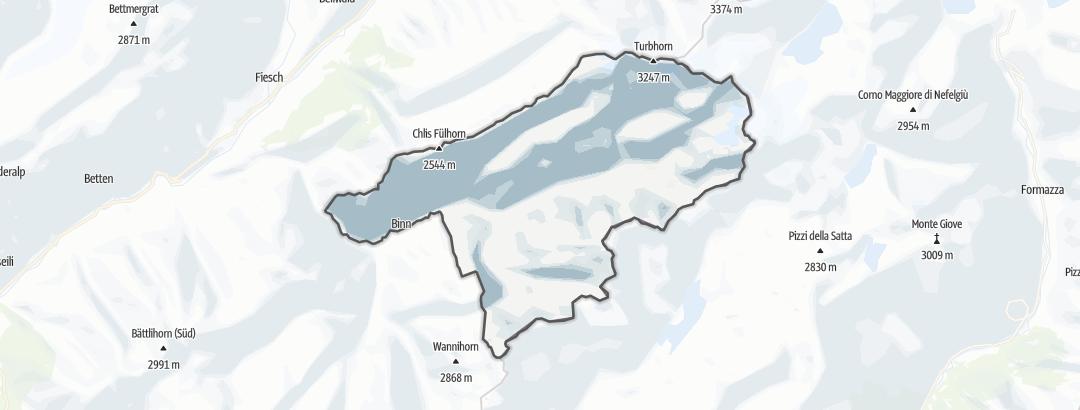 Karte / Binntal