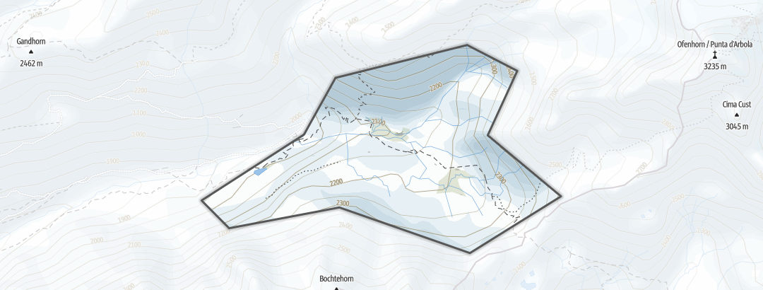 Karte / Albrun