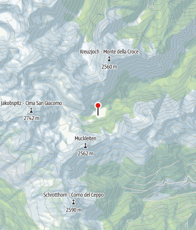 Karte / Innere Flaggeralm