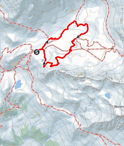 Karte / Mittlerer Erlebnispfad am Schneeberg