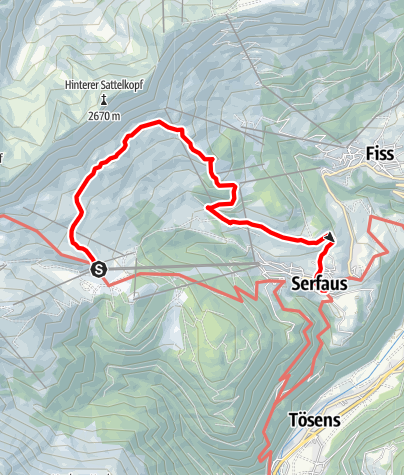 Karte / Quellenweg