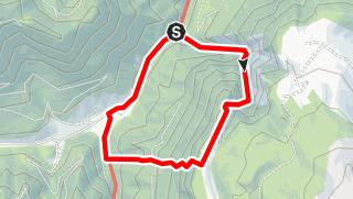 Karte / Rax - Großes Übeltal