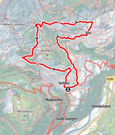 Karte / 10 Möseralm