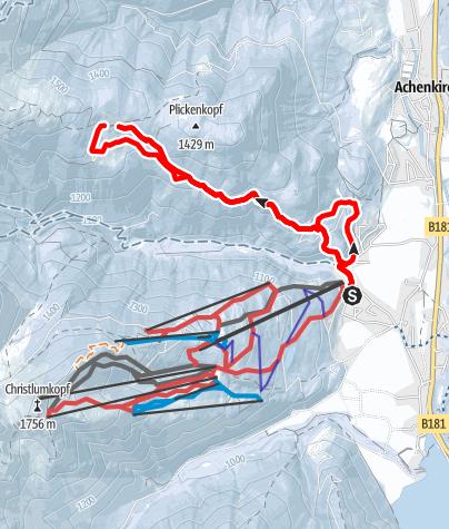Karte / Zur Jochalm