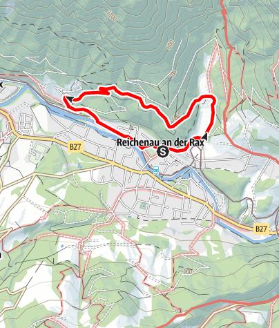 Karte / Kaisersteig in Reichenau