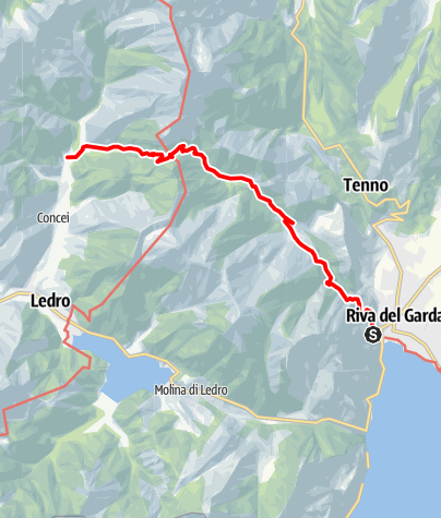 Karte / Senter de Val Sorda (SAT 402)