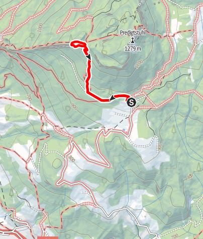 Map / Faschingszug - Genusstour am Radsteigkopf