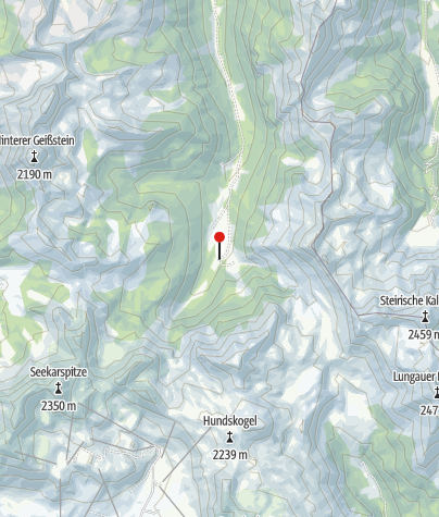 Karte / Vögeialm