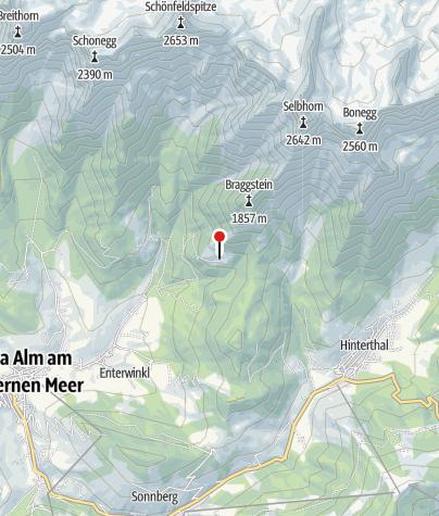 Karte / Lechneralm 1261 m