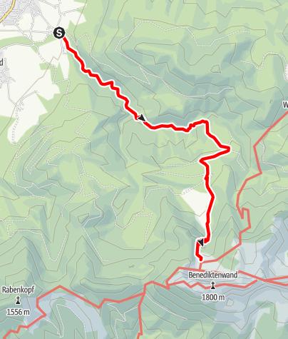 Karte / Tutzinger Hütte über Lainbachtal